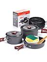 Naturehike Camping Cookware Mess Kit Sets Portable Aluminium for Camping Camping & Hiking Picnic