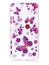 Etui pour lg k10 (2017) k8 (2017) housse papillon modele haute permeabilite tpu materiel imd technologie flash poudre telephone cas g6