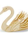 3D пазлы Пазлы Деревянные игрушки Динозавр Летательный аппарат Лебедь Своими руками деревянный Дерево Классика Детские Универсальные