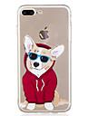 제품 iPhone X iPhone 8 케이스 커버 패턴 뒷면 커버 케이스 개 카툰 소프트 TPU 용 Apple iPhone X iPhone 8 Plus iPhone 8 아이폰 7 플러스 아이폰 (7) iPhone 6s Plus iPhone 6