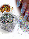 1 pcs Sequins / Glitter Powder Elegant & Luxurious / Sparkle & Shine / Nail Glitter Nail Art Design