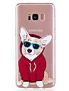 Para samsung galaxy s8 plus s8 telefone capa tpu material filhote de cachorro padrao caixa de telefone pintado s7 edge s7 s6 edge s6