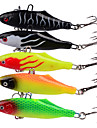"5 pcs Soft Bait Fishing Lures Soft Bait Jig Head Shad Soft Jerkbaits g / Ounce, 63 mm / 2-1/2"" inch, Silica Gel Soft Plastic Lead Sea"