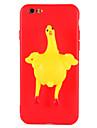 Etui pour iphone 7 plus 7 etui epais dissimule cas d\'etui poulet oeuf 3d carre doux tpu boitier pour iphone 6 6s 6 plus 6s plus