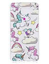 Case For Samsung Galaxy A5(2017) A3(2017) IMD Pattern Back Cover Unicorn Soft TPU for A3(2017) A5(2017) A5(2016) A3(2016)