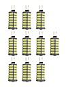 4W G4 Luminarias de LED  Duplo-Pin 120 leds SMD 2835 Branco Quente Branco 320lm 3000-3500/6000-6500K DC 12V
