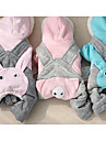 Dog Clothes/Jumpsuit Dog Clothes Casual/Daily Solid Blushing Pink Blue Fuchsia Gray