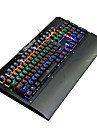 K26-S Wired Multicolor Backlit Blue Switches 104 Mechanical Keyboard Backlit