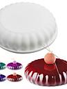 1 Piece Moules a gateaux Rond Usage quotidien Ustensile de Cuisine 3D Creative Kitchen Gadget Noel Mariage Anniversaire A Faire Soi-Meme