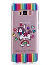 케이스 제품 Samsung Galaxy S8 Plus S8 IMD 투명 패턴 뒷면 커버 동물 소프트 TPU 용 S8 S8 Plus