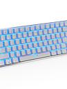 Ajazz AK33 Gaming Keyboard, 82 Classic Layout Keys, Transparent Blue Switch