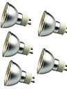5 stuks 3W 280lm GU10 LED-spotlampen 30 LED-kralen SMD 5050 Decoratief Warm wit Koel wit 12V