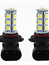 2pcs H11 / 9005 / 9006 Car Light Bulbs 3 W SMD 5050 270 lm LED Turn Signal Light