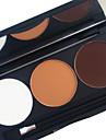 3 Color in 1 Palette,  6 Color Palette Select Homens / Mulheres / Lady Sem Formol / Sem Amonia / Sem Alcool Combinacao / Secos / Normal