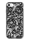 Pour iPhone 7 iPhone 7 Plus Etuis coque Ultrafine Motif Coque Arriere Coque Impression de dentelle Flexible PUT pour Apple iPhone 7 Plus
