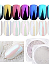 1pc Powder / Glitter Powder Elegant & Luxurious / Mirror Effect / Sparkle & Shine Nail Art Design