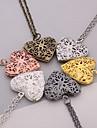 Women\'s Pendants Jewelry Heart Silver Plated Heart Handmade Jewelry For Dailywear Casual