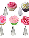 Cake Molds Flower Animal 3D Cartoon Ice Cream Cupcake Cake Bread Cooking Utensils For Cupcake For Cake Stainless Steel Kids Normal