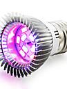 1шт 4W 165-190lm E14 GU10 E26 / E27 Растущая лампочка 10 Светодиодные бусины SMD 5730 Синий Красный 85-265V