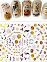 1 pcs 3D Nail Naljepnice Nail DIY Alati Naljepnice nail art Manikura Pedikura 3D Moda Dnevno / 3D naljepnice za nokte
