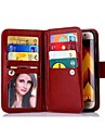 Case For Samsung Galaxy J3(2017) J5(2017) Luxury Wallet Case Flip Detachable Leather 9 Card Phone Bags J7(2017) J3 J5 J7