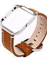 Watch Band for Fitbit Blaze Fitbit Classic Buckle Modern Buckle Metal Leather Wrist Strap