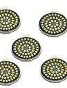 5 шт. 3W 500lm GU10 Точечное LED освещение 48 Светодиодные бусины SMD 2835 Декоративная Тёплый белый Холодный белый 12V