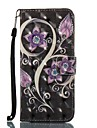 Case For Samsung Galaxy S8 Plus S8 Wallet Card Holder with Stand Flip Pattern Magnetic Full Body Flower Hard TPU for S8 S8 Plus S7 edge