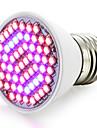 1500-1800lm E27 Growing Light Bulb 60 LED Beads SMD 3528 Blue Red 85-265V