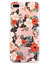 Para iPhone X iPhone 8 Case Tampa Ultra-Fina Estampada Capa Traseira Capinha Flor Macia PUT para Apple iPhone X iPhone 8 Plus iPhone 8