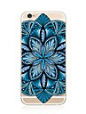 Case For Apple iPhone X iPhone 8 Plus iPhone 7 Plus iPhone 7 Transparent Pattern Back Cover Mandala Soft TPU for iPhone X iPhone 8 Plus