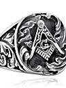 남성용 보석류 패션 힙합 스테인레스 티타늄 스틸 기타 보석류 일상 캐쥬얼
