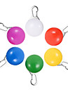 HKV® 1Pcs 2W White Red Green Pink Blue Yellow Led Pet Decorations Luminous Pendant Night Warning