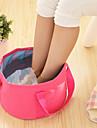 текстильный пластик Овал водонепроницаемые чехлы Портативные Дорожные Главная организация, 1шт Сумка / корзина для белья