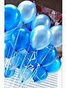 20 pcs / set ballons a air latex ballon circulaire gonflable en vrac de 10 pouces