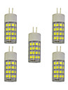 5 pieces 4W E14 LED a Double Broches T 51 diodes electroluminescentes SMD 2835 Blanc Chaud Blanc 320lm 3000-3500/6000-6500K AC 100-240V