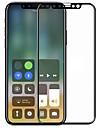 מגן מסך Apple ל iPhone X זכוכית מחוסמת יחידה 1 מגן מסך מלא 3 קצה מעוגלD עמיד לשריטות הוכחת פיצוץ קשיחות 9H