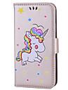 Case For Apple iPhone 8 iPhone 8 Plus Card Holder Flip Pattern Full Body Cases Unicorn Hard PU Leather for iPhone X iPhone 8 Plus iPhone