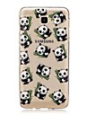 For Case Cover Ultra-thin Transparent Pattern Back Cover Case Panda Soft TPU for Samsung Galaxy J7 (2016) J7 (2017) J7 V J7 Perx J7 J5