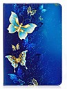 Кейс для Назначение SSamsung Galaxy Вкладка S2 9.7 Чехол планшетный случаи Бабочка Твердый Кожа PU для
