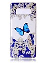 For Case Cover Pattern Back Cover Case Butterfly Soft TPU for Samsung Galaxy Note 8 Note 5 Edge Note 5 Note 4 Note 3 Lite Note 3 Note 2