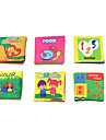 Educational Flash Cards Toys Square Unisex Pieces