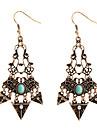Women\'s Stud Earrings Hoop Earrings Basic Bohemian Turquoise Geometric Jewelry For Wedding Birthday