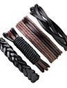 Men\'s / Women\'s Wrap Bracelet / Leather Bracelet - Leather Bohemian Bracelet Black For Casual / Going out