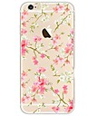 Case For Apple iPhone X iPhone 8 Ultra-thin Transparent Pattern Back Cover Flower Soft TPU for iPhone X iPhone 8 Plus iPhone 8 iPhone 7