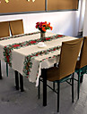 100 % Polyester Carre Nappes de table Avec motifs Economique Decorations de table