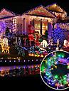 брелок 6.5w 100-led занавес / / свадебные / праздничные фонари декоративные / семейный сад / (10 м / эв) 1шт
