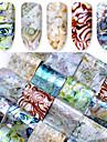 16 pcs Tips voor kunstmatige nagels Stickers Nagel kunst Manicure pedicure Modieus Design Chic & Modern