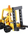 SHIBIAO Building Blocks Forklift Toys Forklift Vehicles Military DIY Classic New Design Children\'s Adults\' 37 Pieces