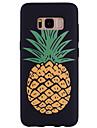 Capinha Para Samsung Galaxy Estampada Capa traseira Fruta Macia Silicone para S8 Plus S8 S7 edge S7 S6 edge S6